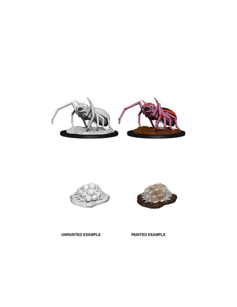 D&D Nolzur's Marvelous Miniatures: Giant Spider & Egg Clutch