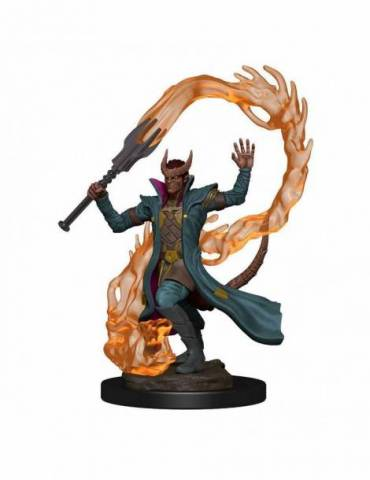 D&D Icons of the Realms: Tiefling Sorcerer Male Premium