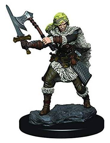 D&D Icons of the Realms: Human Female Barbarian