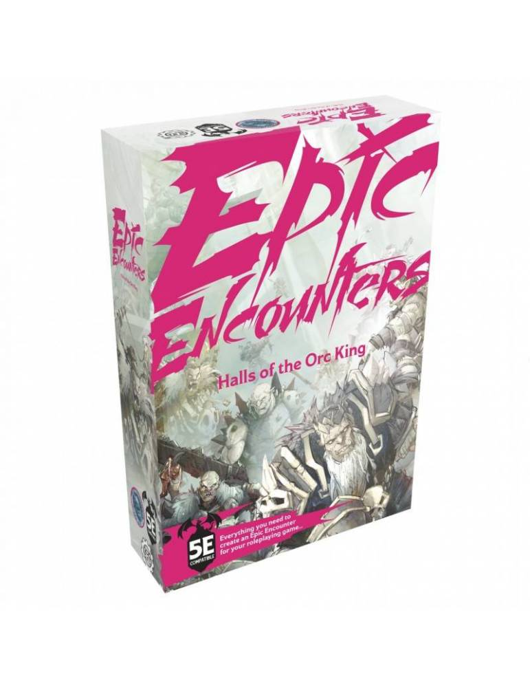 Epic Encounters: Halls Of The Orc King (Inglés)