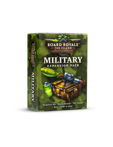 Board Royale: The Island - Military Expansion Pack