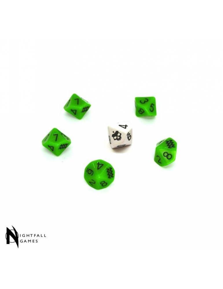 SLA Industries RPG Dice Set (6 Dice)