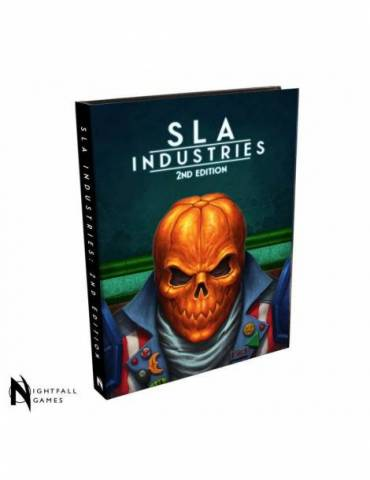 SLA Industries RPG 2nd Edition Core Rulebook