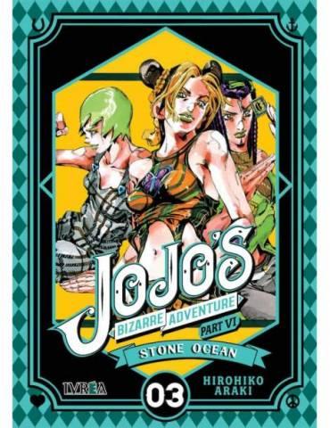Jojo's Bizarre Adventure Parte 6: Stone Ocean 03