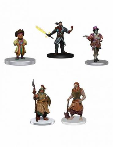 Pack de 8 Miniaturas Critical Role: Factions of Wildemount - Clovis Concord & Menagerie Coast Box Set