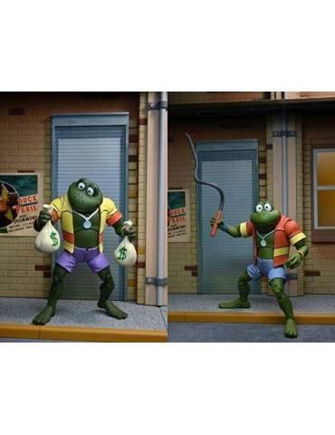 Pack de 2 Figuras Scale Action Las Tortugas Ninja Cartoon: Ranas Napoleon & Atilla 18 cm