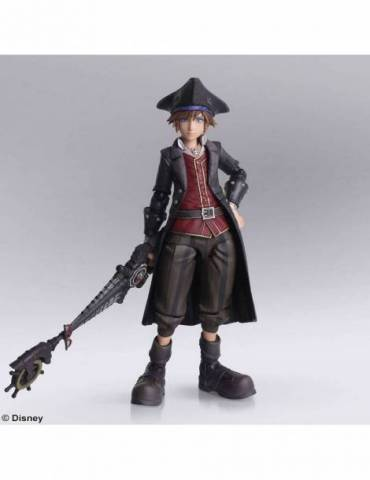 Figura Kingdom Hearts III Bring Arts: Sora Pirates of the Caribbean 15 cm
