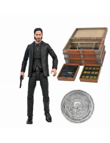 Figura Action Figure Box Set: John Wick Deluxe Movie Poster Version 18 cm