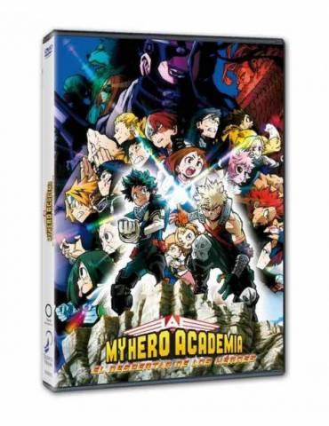 My Hero Academia la Película. El Despertar de los Heroes (DVD)