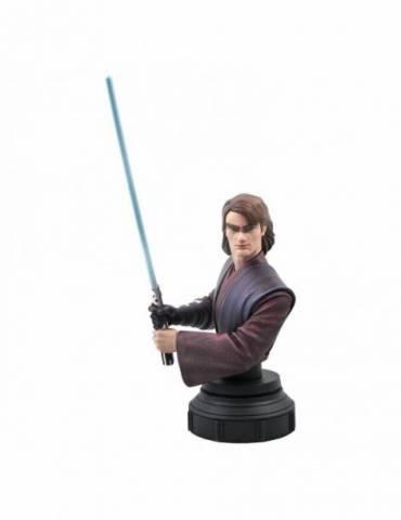 Figura Busto Star Wars The Clone Wars: Anakin Skywalker 15 cm