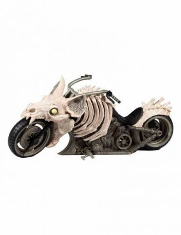 Figura DC Multiverse Vehículo Batcycle (Dark Nights: Death Metal)