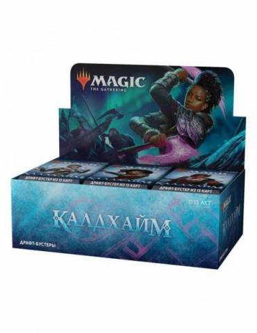 Magic: Kaldheim - Caja de Sobres de Draft (36 sobres) (Ruso)