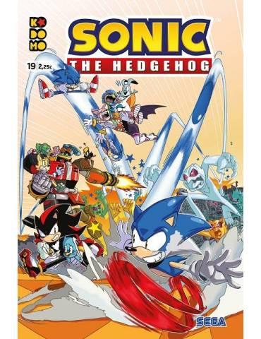 Sonic The Hedgehog núm. 19