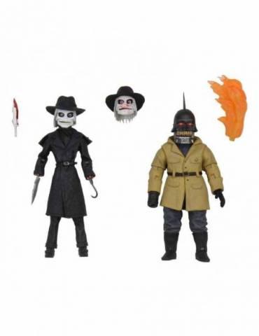 Pack de 2 Figuras Puppet Master Ultimate Blade & Torch 11 cm