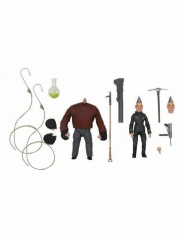 Pack de 2 Figuras Puppet Master Ultimate Pinhead & Tunneler 11 cm