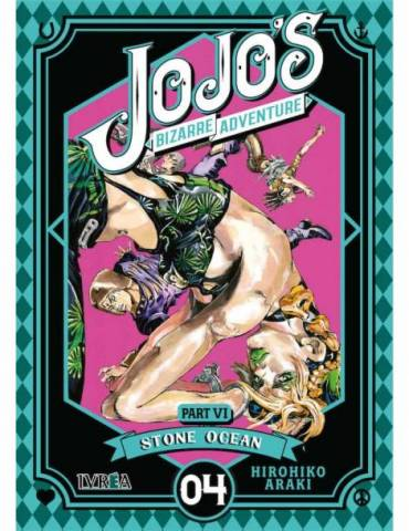 Jojo's Bizarre Adventure Parte 6: Stone Ocean 04