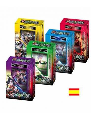 Force of Will: Display De Mazos De Inicio Noches Remotas
