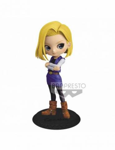 Figura Dragon Ball Z Q Posket: Android 18 Ver. A 14 cm