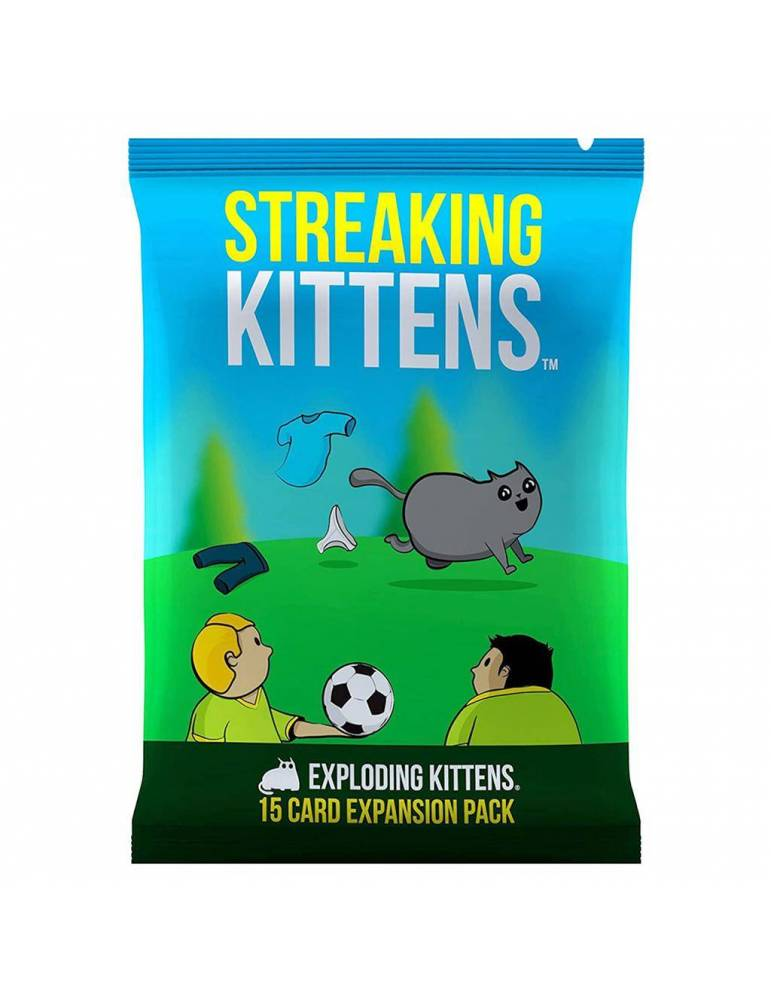 Streaking Kittens (Castellano)