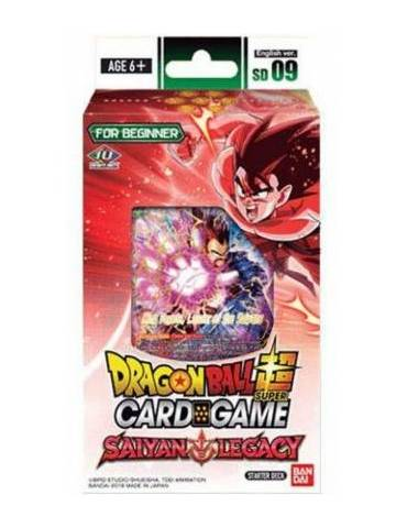 Dragon Ball Super Card Game: Sailyan Legacy SD9