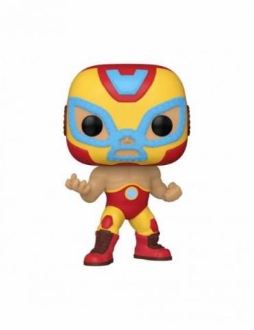Figura POP Marvel Luchadores: Iron Man 9 cm