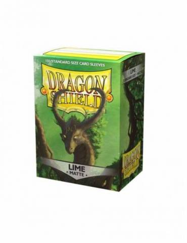 Fundas Dragon Shield Matte: Lime Laima (100)