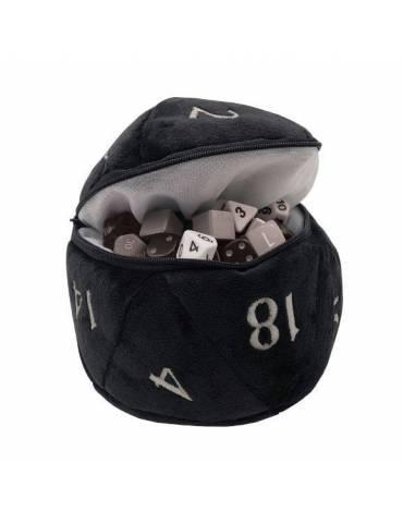Bolsa para Dados Ultra Pro: D20 Plush Black