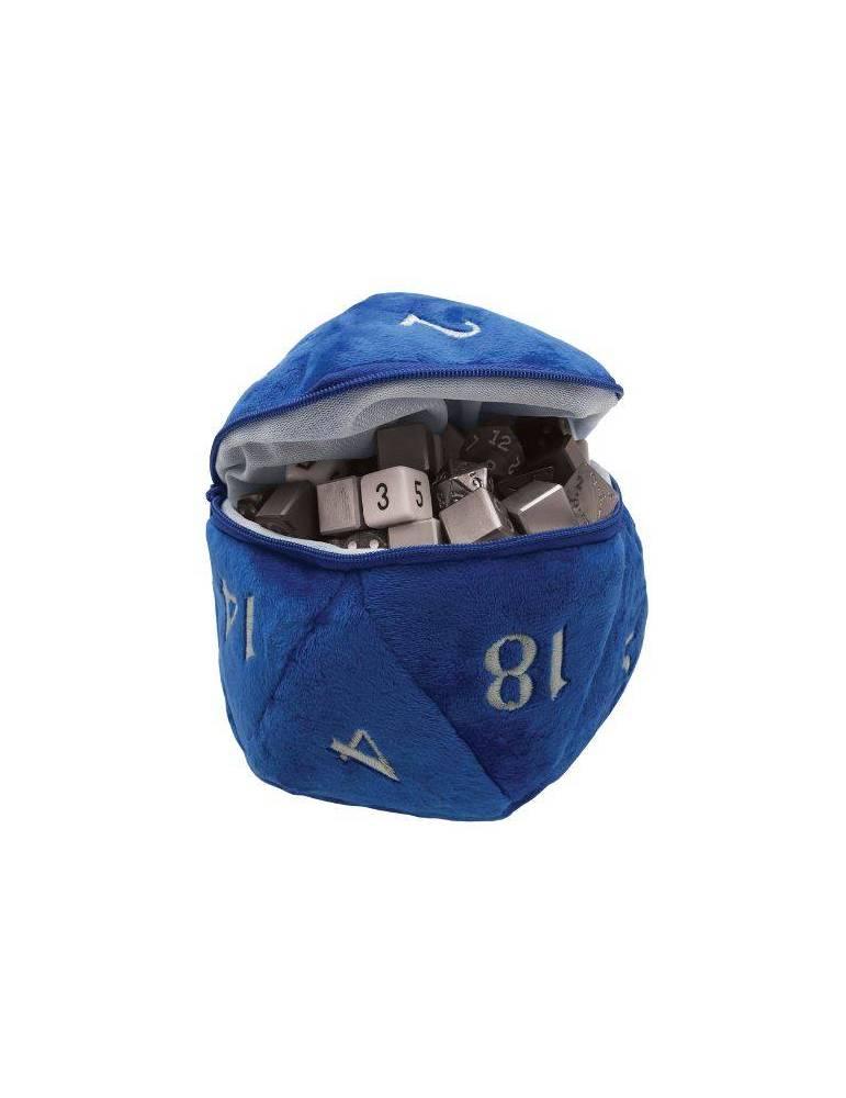 Bolsa para Dados Ultra Pro: D20 Plush Blue