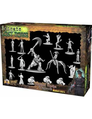 Secrets of the Lost Tomb: Ancient Myths and Legends Miniatures