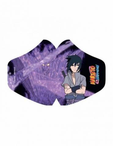 Mascarilla de Tela Naruto: Sasuke Uchiha
