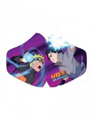 Mascarilla de Tela Naruto: Naruto Vs Sasuke