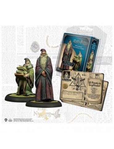 Harry Potter Miniatures Adventure Game: Dumbledore y Flitwick (Castellano)
