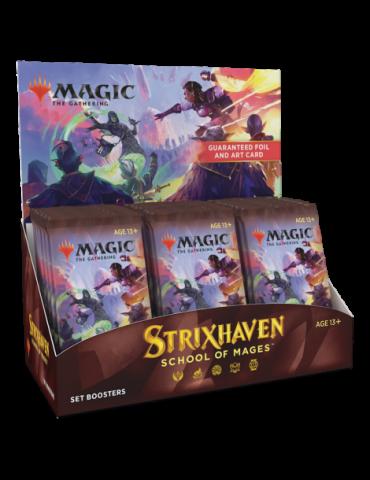 Magic the Gathering Strixhaven: School of Mages Caja de Sobres de Edición (30) (Inglés)