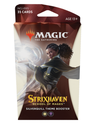 Magic the Gathering Strixhaven: School of Mages Theme Boosters - Silverquill