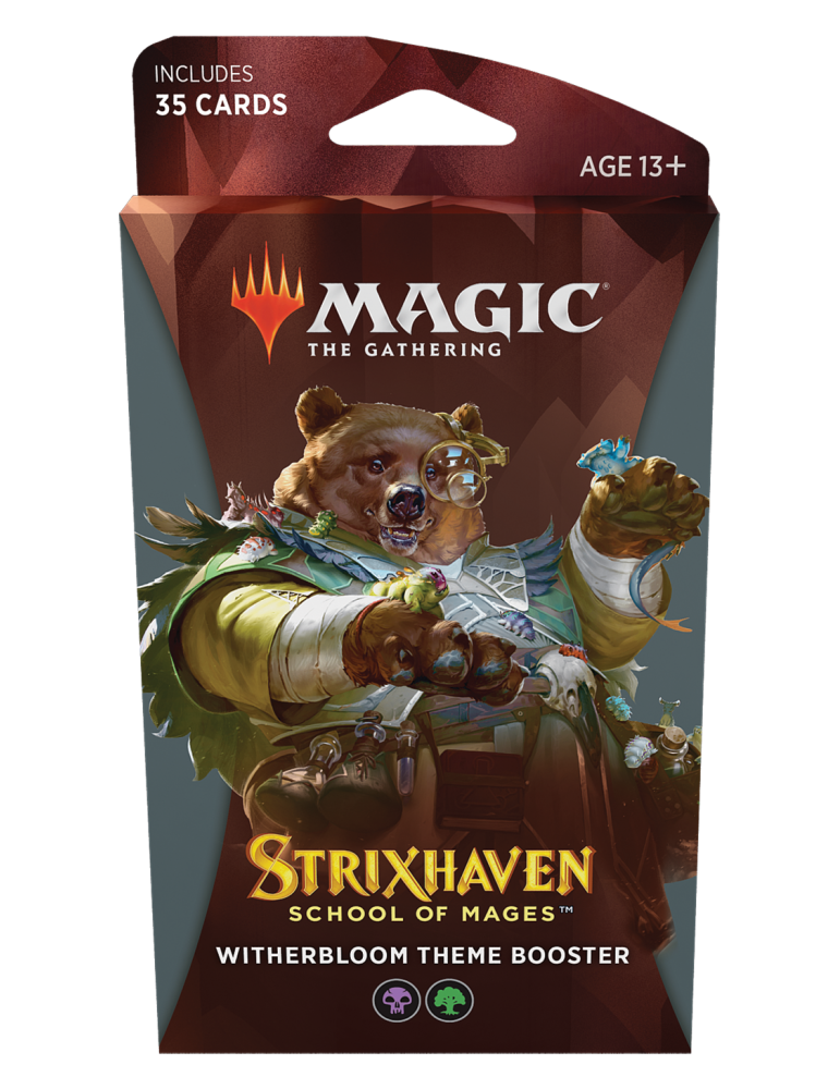 Magic the Gathering Strixhaven: School of Mages Theme Boosters - Witherbloom
