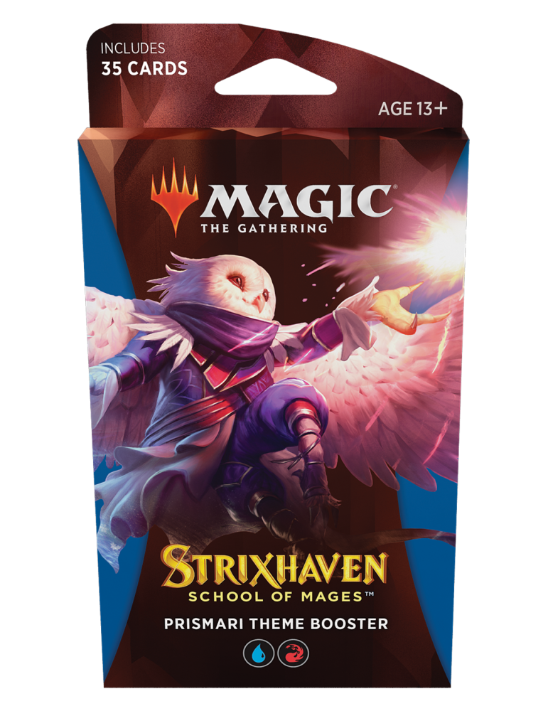 Magic the Gathering Strixhaven: School of Mages Theme Boosters - Prismari