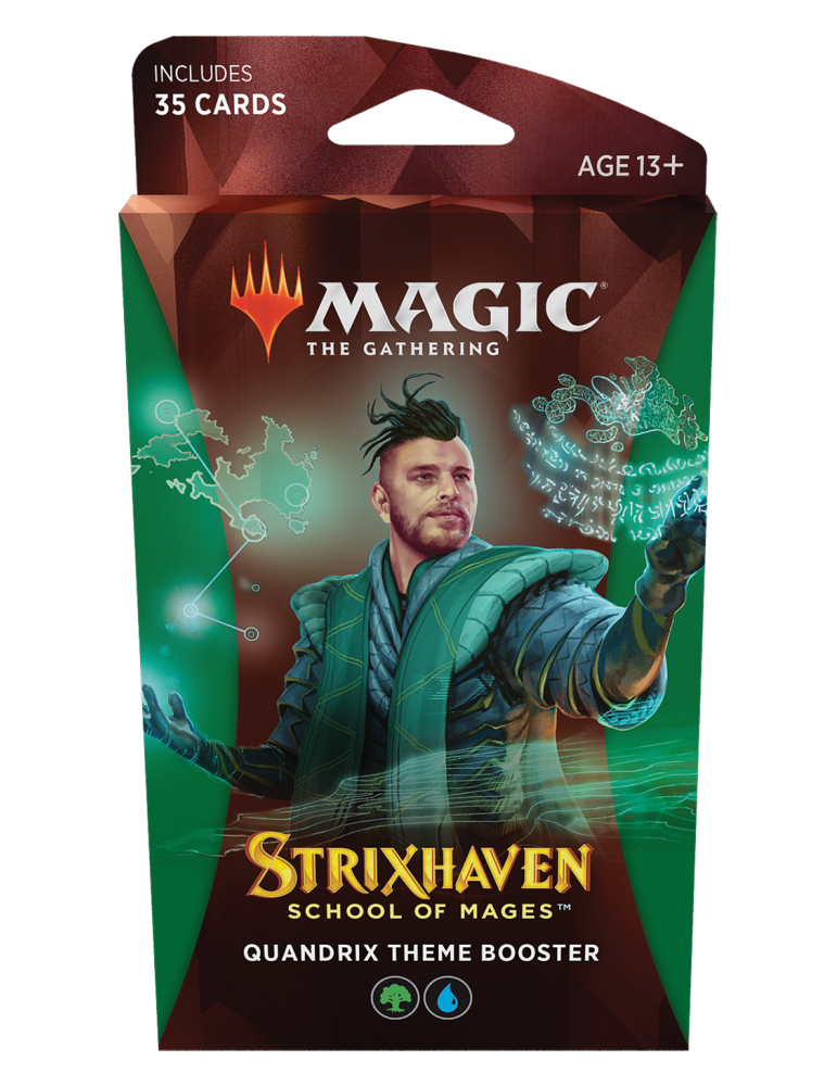 Magic the Gathering Strixhaven: School of Mages Theme Boosters - Quandrix