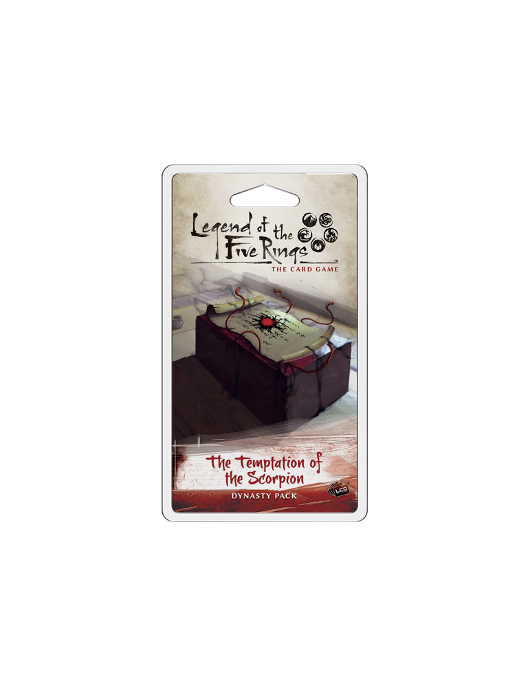 Legend of the Five Rings: The Card Game - The Temptation of the Scorpion