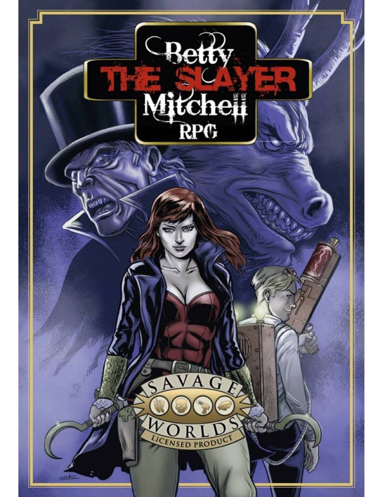 Betty The Slayer Mitchell - Juego de Rol