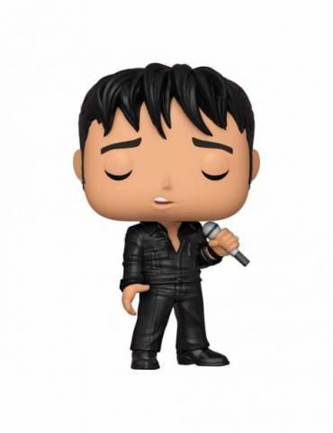 Figura POP Elvis Presley Rocks: Elvis - '68 Comeback Special 9 cm