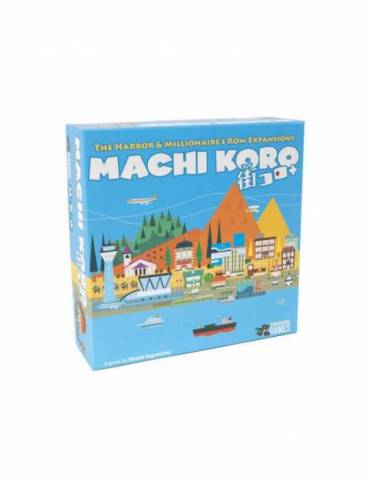 Machi Koro: The Harbor & Millionaire's Row Expansions