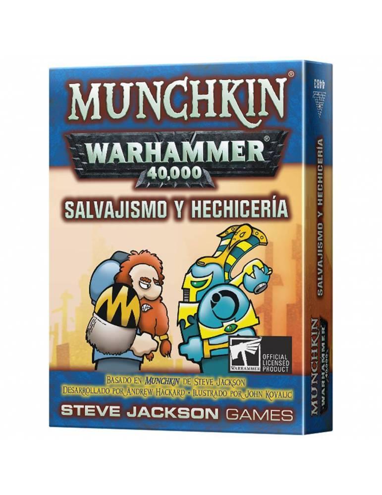 Munchkin Warhammer: Salvajismo y hechicería