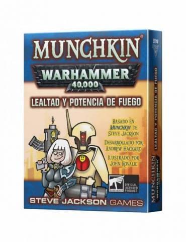 Munchkin Warhammer: Lealtad y potencia de fuego