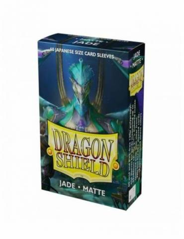 Fundas Dragon Shield Small Sleeves Matte: Jade Green (60)