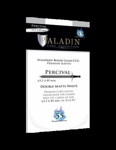 Fundas Paladin Percival White (63.5 × 89 mm)
