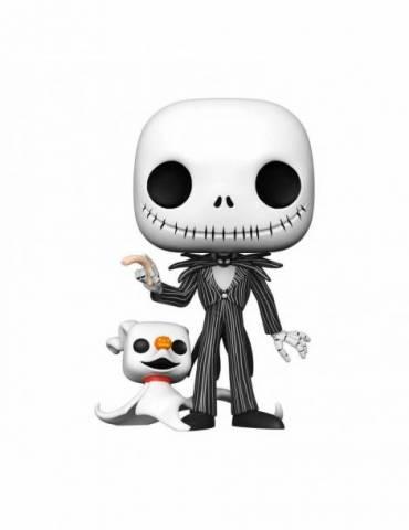 Figura POP Pesadilla antes de Navidad Super Sized Disney: Jack with Zero 25 cm