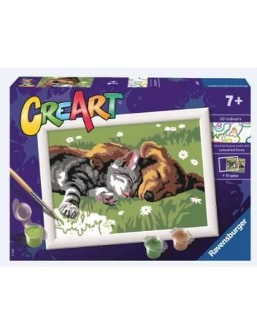 CreArt E - Gato y perro