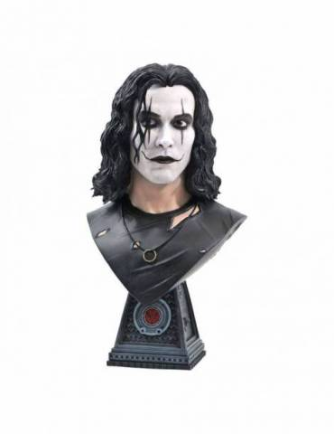 Figura Busto The Crow Legends in 3D:Eric Draven 25 cm
