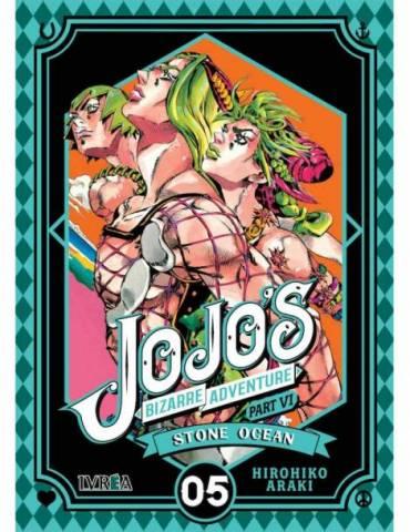 Jojo's Bizarre Adventure Parte 6: Stone Ocean 05