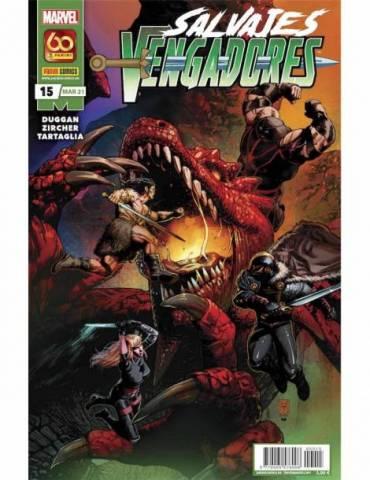 Salvajes Vengadores 15